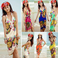 Fashion Women Summer Beach Dress Bikini Swimwear Cover Up Sarong Sexy Wrap Pareo