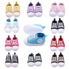 Casual Canvas Baby Crib Shoes Infant Boys Girls Cozy Cotton Sneakers Prewalkers