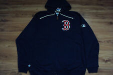 BOSTON RED SOX NEW MLB MAJESTIC AUTHENTIC CLUBHOUSE FULL ZIP FLEECE JACKET