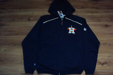HOUSTON ASTROS NEW MLB MAJESTIC AUTHENTIC CLUBHOUSE FULL ZIP FLEECE JACKET