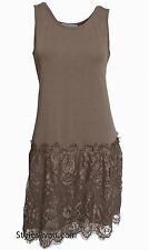 Pretty Angel Clothing Maude Shirt Extender - Dress In Brown S M L XL 62796