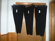 3/4 Leg Soft Relax Capri  Pants GAP color Black size 2XL,MD,SM,2 side pockets NW
