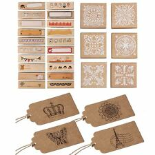 Crafts Scrapbooking Mixed Rubber Stamps