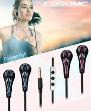 Sports Wired In Ear Headset Stereo Headphone 3.5mm Jack Earphone For Cell Phone