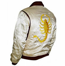 Slim Fit Drive Biker Rider Trucker Hot Ryan Gosling Jacket Embroidered Scorpion