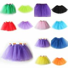 Stylish Girls Kids Costumes 3 Layer Tutu Party Dress Tulle Ballet Dance Skirts
