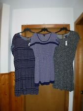 Short Sleeve Dresses GAP Reg. size 2XL,XL,LG MD,SM Multi Darker color 100% rayon