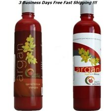 Argan Almond Oil Shampoo/Conditioner Sulfate Free Safe Colored Hair Dry Repair