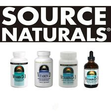Source Naturals VITAMIN D-3 all sizes - select option