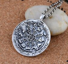 925 Sterling Silver  twelve chinese zodiac signs animal charm pendant S391