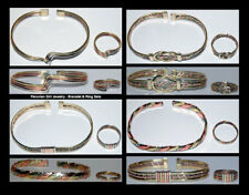 20 BRACELETS RINGS COPPER BRONZE MATCHING JEWELRY SETS