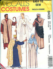 McCalls 8435 Biblical Shepherd Angel Royal sewing pattern Easy XS-XL UNCUT FF