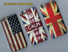 UK  USA FLAG DESIGN UK KEEP CALM IPHONE 5C CASE BACK COVER+PLUS SCREEN PROTECTOR