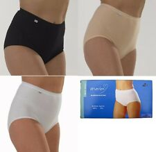 Marlon Cotton Maxi Smooth Full Briefs Knickers Pants Light Control Sizes 12-26