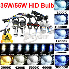2PCS 35W/55W HID Conversion XENON Bulbs H1 H3 H7 H8 H9 H10 9005 9006 H/L H4 H13