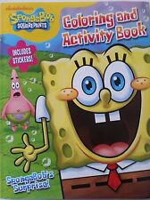 "SpongeBob Coloring and Activity Book with Stickers ""Spongebob's Surprise"" 144 Pg"