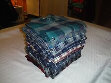 Big & Tall Long Sleeve Button Down Flannel Shirts Sonoma and Croft & Barrow  NWT
