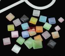 NEW!very beautiful,square Cat's Eye Bead Scrapbook DIY for Craft Pick 4-6-8-10mm