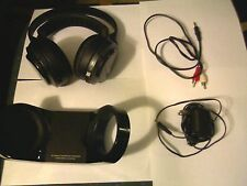 Sony MDR-RF970RK Headband Wireless Headphones Black COMPLETE WITH ACCESSORIES