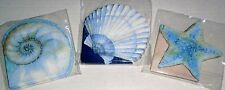 "Coastal Beverage Napkins 16Ct 3-Ply 9.75""x9.75"" ASS'T SEASHELL DESIGNS AVAILABLE"
