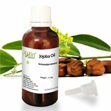 JOJOBA OIL - UNDILUTED  - 100%  PURE NATURAL ESSENTIAL OIL 15 ML TO 100 ML