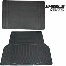 Mazda 121 2 3 5 6 RUBBER CAR BOOT LINER MAT UNIVERSAL PROTECTOR L OR XL