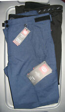 686 Smarty Cargo Mens 3-in-1 Snowboard Snow Ski Pant w/ Liner Indigo Texture Med