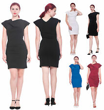 MARYCRAFTS WOMENS ELEGANT WORK OFFICE BUSINESS BODYCON SLIM FIT CELEB DRESS