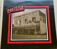 Old Hotel Guest Register Greg Wietzel Vinyl Record - Autographed