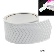 """Safety Silver Reflective Tape Fabric Iron On Material Heat Transfer 2"""" Arrow M01"""