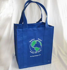 Reusable Grocery Shopping Bags - 10 BLUE CMW bags CLUB Size