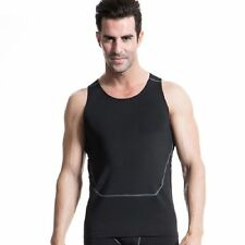 Athletic Men Body Compression Tank Top Baselayer Gym Vest Under Skin Tight Shirt