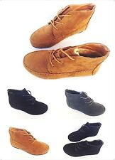 New Women's Cute Comfort Ankle Lace Up Flat Casual Oxford Shoe 8952