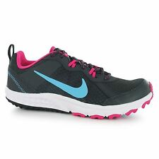 Nike Wild Trail Running Shoes Womens Dark Grey/Blue/Pink Trainers Sneakers