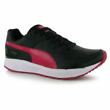 Puma Sequence Trainers Womens Black/Pink Gym Fitness Workout Trainers Sneakers