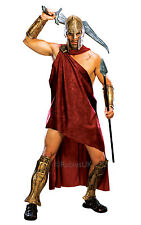 "Adult Deluxe ""300"" Spartan Costume Gladiator Warrior Mens Fancy Dress Outfit"