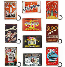 Classic Amercana Gas Station & Garage Service Metal Tin Sign Wall Decor Display