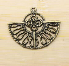 wholesale:8/30/100 pcs new Retro style lovely  bronze charms Pendants  38x31 mm