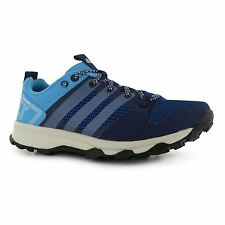 Adidas Kanadia 7 TR Running Shoes Womens Blue/Silver/Blue Trainers Sneakers
