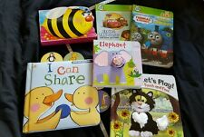 Bundle of baby / toddler books - touch and feel, leapfrog, Thomas and friends