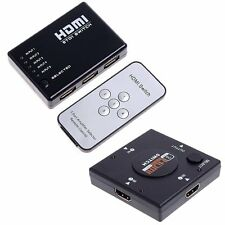 5/3 Port 1080P HDMI Switch Remote Video Switcher Splitter For PS3 HDTV DVD NEW B