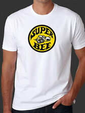 Super Bee Vintage Dodge Classic Muscle Car Mopar New White T-Shirt Tee
