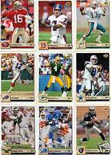 1992 Upper Deck Football complete set 1-620