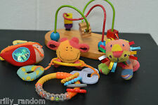Lovely Small Bundle of Baby Toys & Rattles With Bead Toy