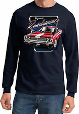 Mens Long Sleeve Plymouth Roadrunner T-Shirt