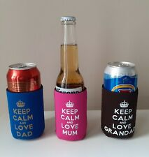 Mum & Dad & Grandad gift Fun Gifts Can/Bottle Coolers!
