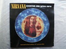 NIRVANA COME AS YOU ARE 122 VINYL PICTURE DISC UK ORIGINAL 1992