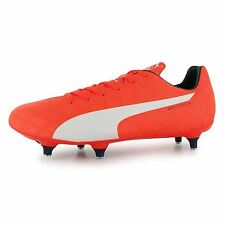 Puma evoSpeed 5 SG Soft Ground Football Boots Mens Lava Blast Soccer Boot Cleats
