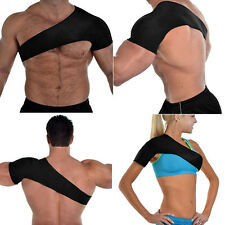 Magnetic Shoulder Brace Injury Dislocation Arthritis Pain Neoprene Support Strap