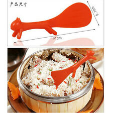 Hot Sale Creative Kitchen Squirrel No Sticky Table Rice Paddle Scoop Spoon Ladle